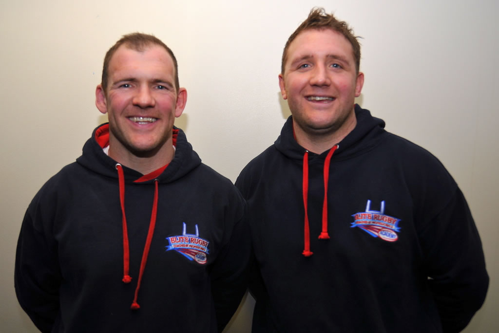 Elite Rugby Academy & School of Excellence Founders Ryan Hudson and Danny Orr